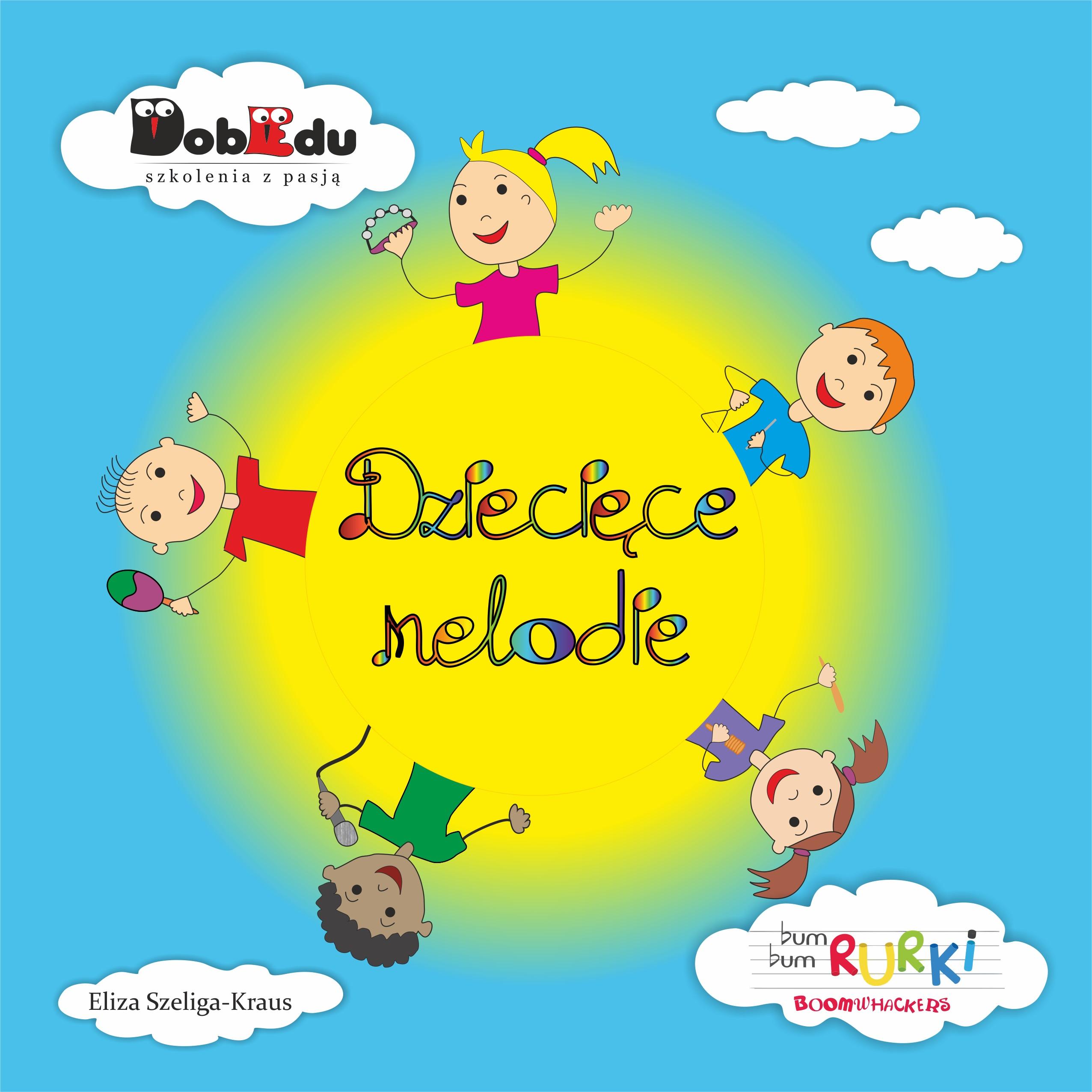 """""""Dziecięce melodie"""" książka"""